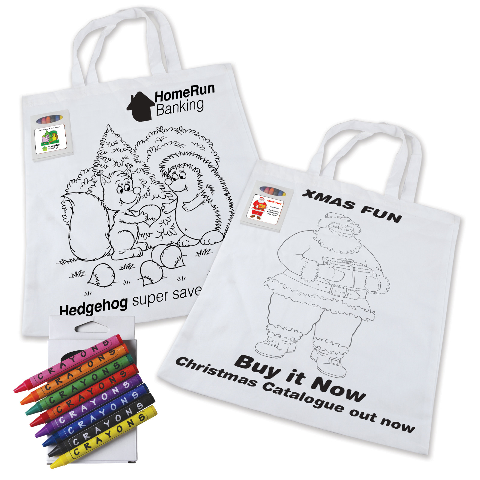 Blog bag colouring