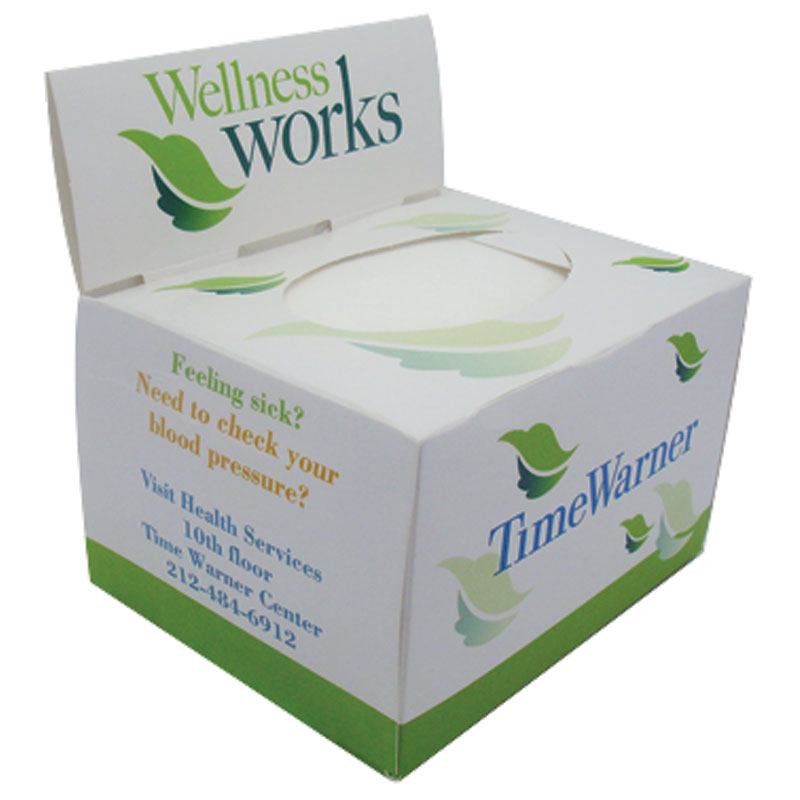 Tissue box custom printed box2