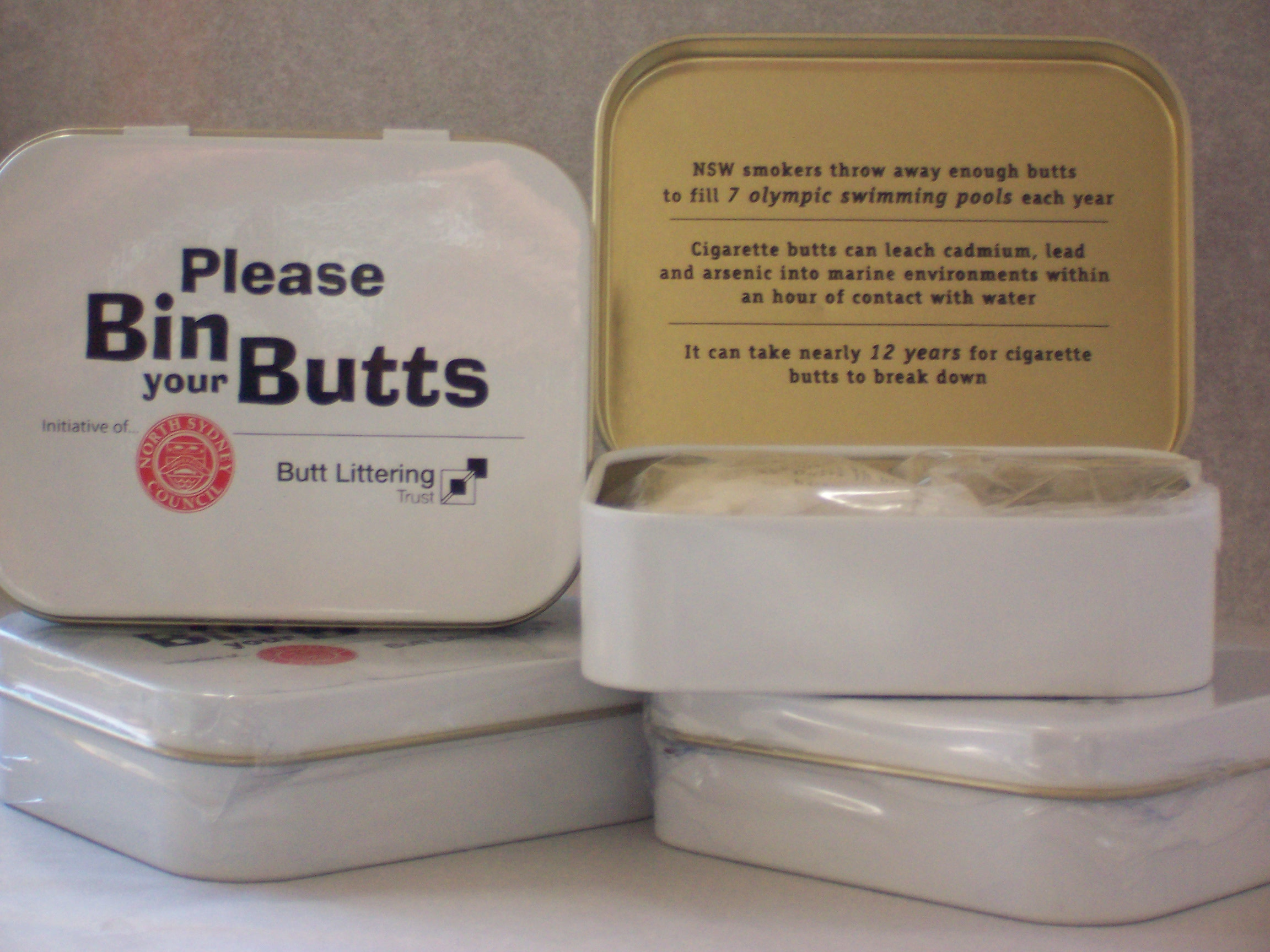 promotional mint tin for council