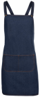 Cross Back Denim Apron