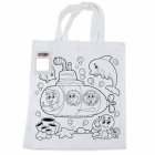 custom colouring calico bag