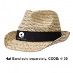Fedora Promotional Straw Hat