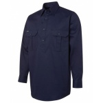 JB's Close Front Work Shirt 190g Double Drill