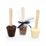 promotional hot chocolate spoon