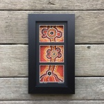 indigenous Framed Artwork Corporate Gift