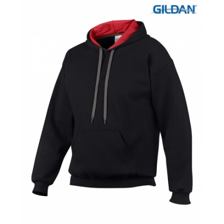 Hooded Sweatshirt Contrast 185C00