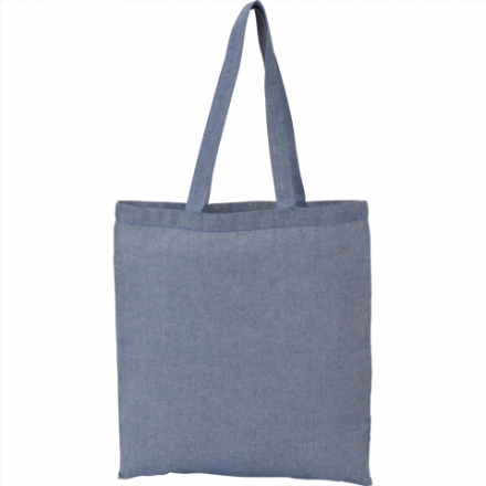 2a_tr5184_recycled_cotton_twill_tote_blue