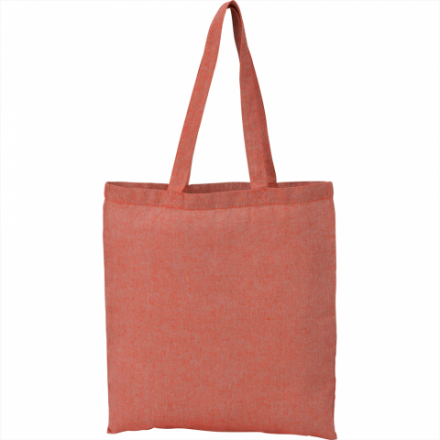 2a_tr5184_recycled_cotton_twill_tote_red