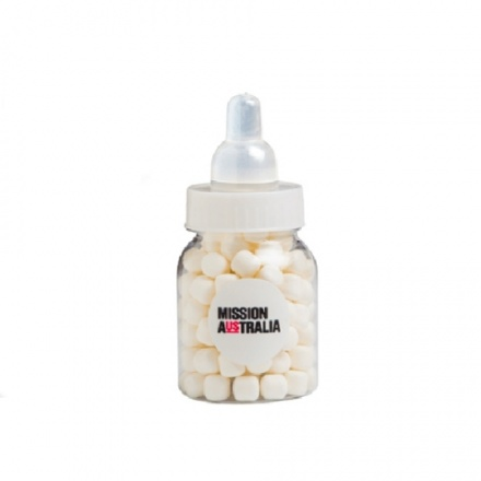 baby bottle confectionery