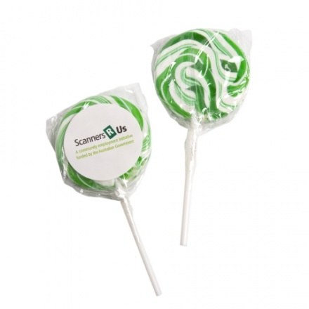 Lollipop Medium Green