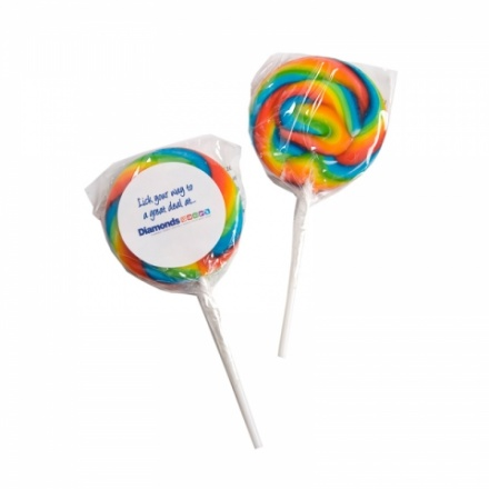 Lollipop Medium Rainbow