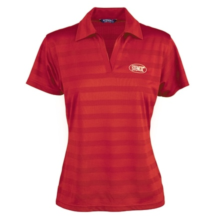 ice cool polo red ladies