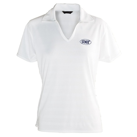 ice cool polo white Ladies